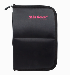 Mia Secret Black Nail Brush Case