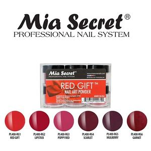 Mia Secret Red Gift Acrylic Collection (6 colors)