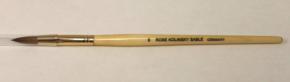 Starlight Rose Kolinsky Sable Oval Brushes