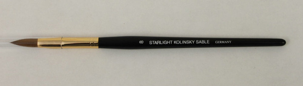 Starlight Kolinsky Sable Oval Brushes
