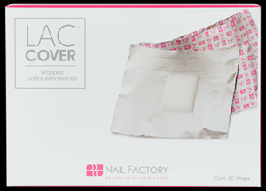 Nail Factory Lac Cover Foil Wrappers