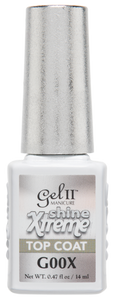 Gel II Gel Polishes (Top coats & G001X-G157)
