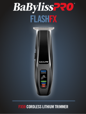BaByliss PRO FlashFX Cordless Lithium Trimmer