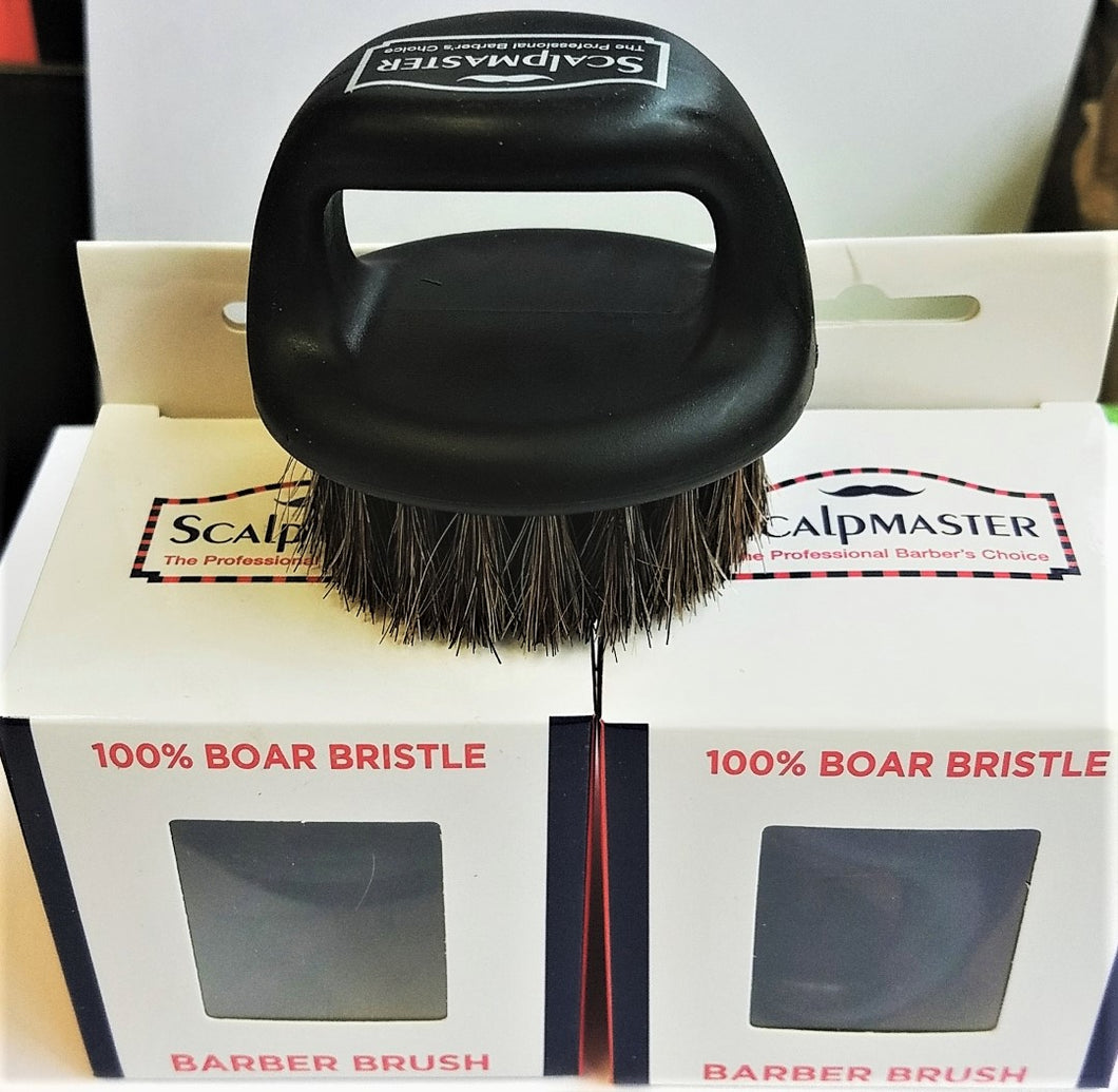 Scalpmaster 100% Boar Bristle Barber Brush