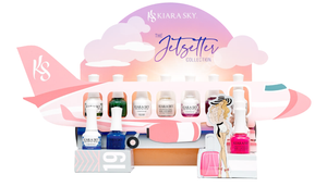 Kiara Sky Jetsetter Collection ( Gel Polish / Nail lacquer ) (621-626)