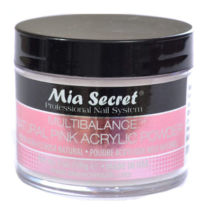 Mia Secret MULTIBALANCE Natural Pink Acrylic Powder 1oz. / 2oz.