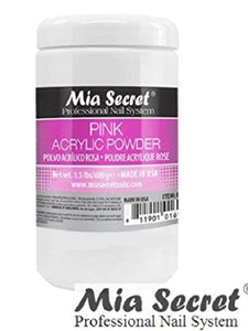 Mia Secret Pink Acrylic Nail Powder 1oz. / 2oz. / 4oz. / 8oz. / 24oz.