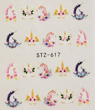 Unicorn Water Transfer Nail Decal (3 Styles)