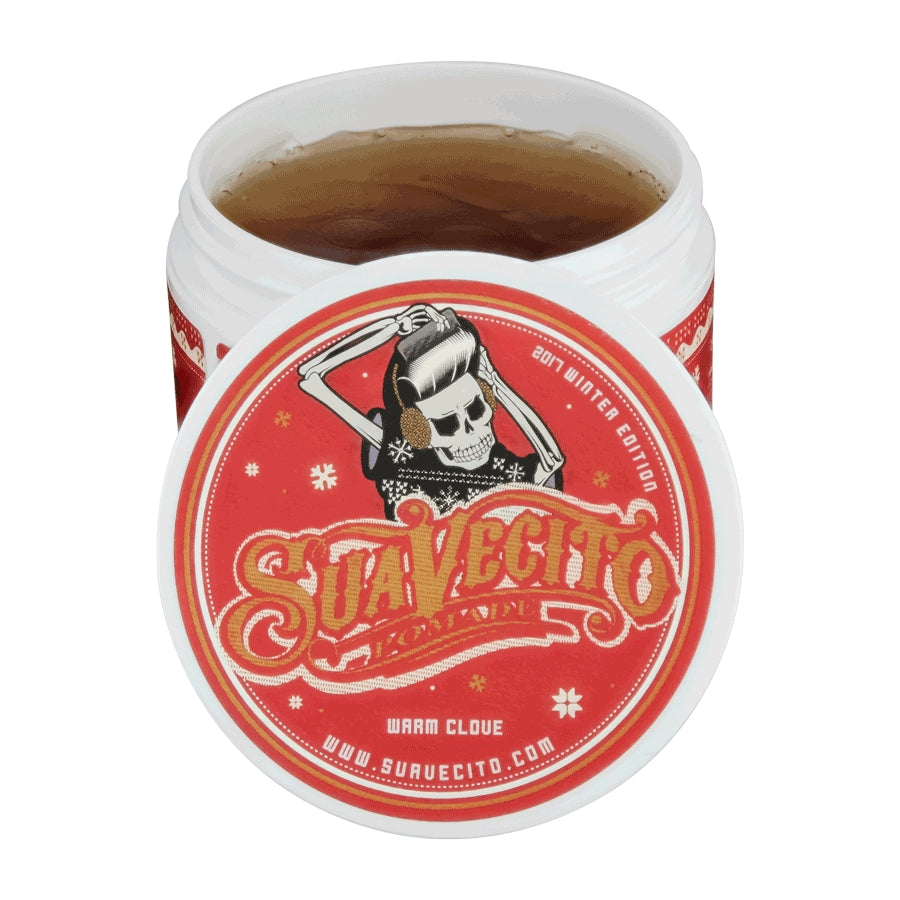 Suavecito Warm Clove Original Hold Pomade 4oz