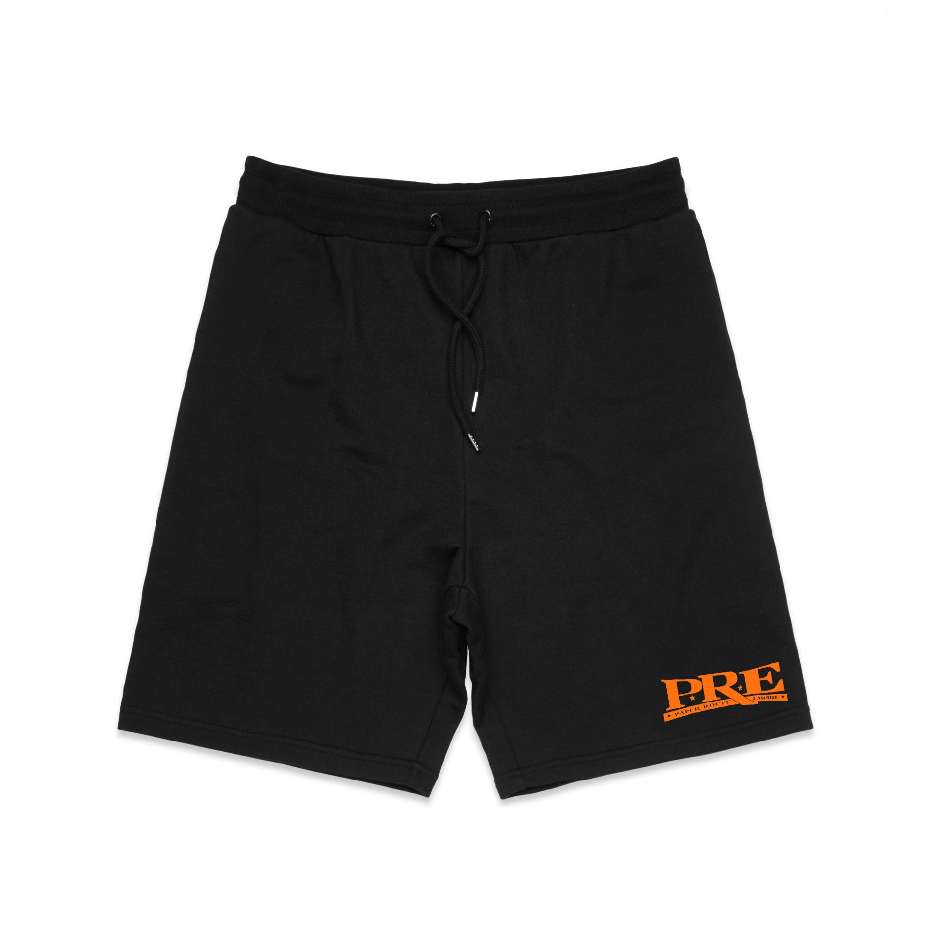 Paper Route Empire Shorts (Black/Orange)