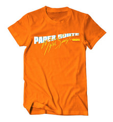 Paper Route MotorSport 901 Shirt (Orange)