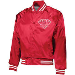 ROLE MODEL PAPER ROUTE  BASEBALL JACKET (RED)