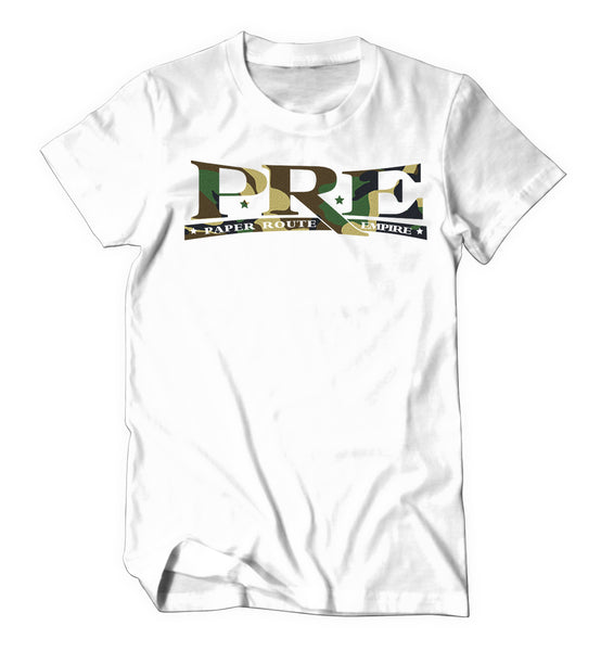 Limited Edition Paper Route Empire (White CAMO)