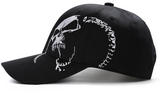 Skull Punk Flat Bill Hat