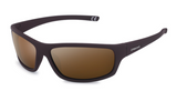 Polarized 3 Point Sunglasses - Brown