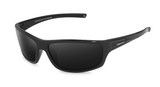 Polarized 3 Point Sunglasses Matt Black