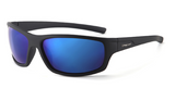 Polarized 3 Point Sunglasses Blue Black
