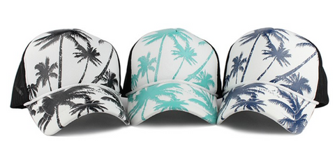 Palm Trees Beach Hat