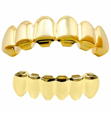 Gold Grillz Set