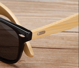 Bamboo Sunglasses Black