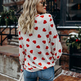 We Are Young Long Sleeve Heart Shirt