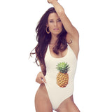 One Piece Pineapple Print Monokini