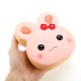 Jumbo Scented Squishy Rabbit Cake Pink