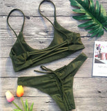 Brazilian Scrunch Bikini Set