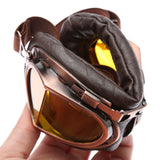 Polarized Motorcycle Steampunk Goggle Riding Glasses