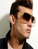 Men's Polarized Fashion Square Sunglasses