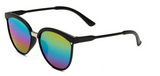 Erika's Classic Round Cat Eye Sunglasses Rainbow