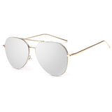 Women's Mirrored Aviator Sunglasses Mirror