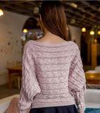 Roses Knitted Sweater