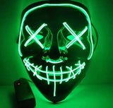 LED Purge, DJ, Rave Glow Mask