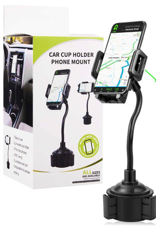 Cell Phone Cup Holder Mount
