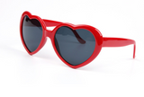 Women's Heart Shaped Sunglasses