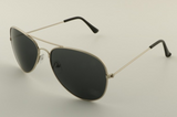 Mirrored Aviator Sunglasses Gray