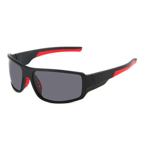 Polarized Outdoor Sport Sunglasses Black Gray