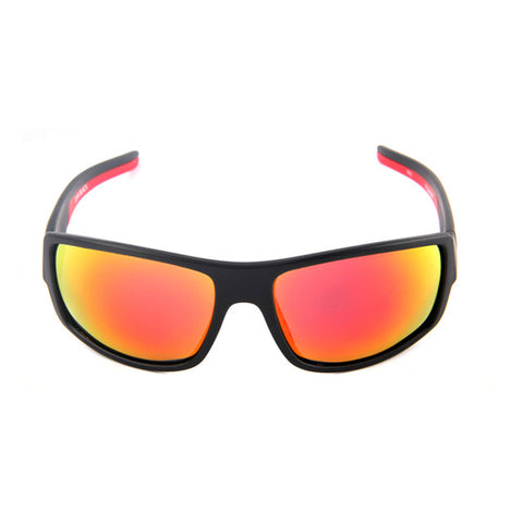 Polarized Outdoor Sport Sunglasses Red Black