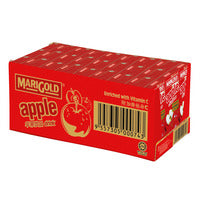 Marigold Packet Fruit Drink - Apple 24 x 250ML (CTN) | Milk and Cream | Office Pantry Supplies