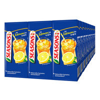 F&N Seasons Packet Drink - Ice Lemon Tea 24 x 250ML (CTN) | Milk and Cream | Office Pantry Supplies