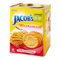 Jacob's Wheat Crackers - Weetameal - 750g | Biscuits and Crackers | Office Pantry Supplies