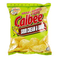 Calbee Potato Chips - Sour Cream & Onion 80G | Chips and Crisps | Office Pantry Supplies