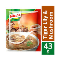 Knorr Soup Mix - Tiger Lily & Mushroom 43G | Instant Soups | Office Pantry Supplies