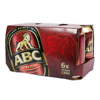 ABC Can Beer - Extra Stout 6 x 323ML | Beer | Office Pantry Supplies