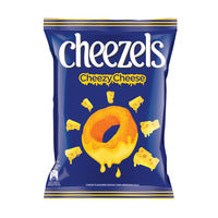 Cheezels Cheese Rings Snack - Original 165G | Chips and Crisps | Office Pantry Supplies