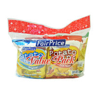 FairPrice Potato Chips - Value Pack (4 Flavours)... | Chips and Crisps | Office Pantry Supplies