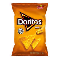 Doritos Tortilla Chips - Taco  198.4G | Chips and Crisps | Office Pantry Supplies