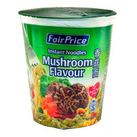 FairPrice Instant Cup Noodles - Mushroom 70G | Instant Cups | Office Pantry Supplies