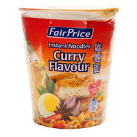 FairPrice Instant Cup Noodles - Curry 70G | Instant Cups | Office Pantry Supplies
